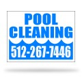 Pool Company Sign Templates