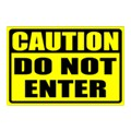 Caution Safety Sign Templates
