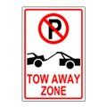Tow-Away Parking Sign Templates