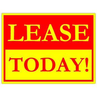 for lease sign template