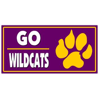 Go wildcats banner 101 sport banner templates sports banners go wildcats banner 101 maxwellsz