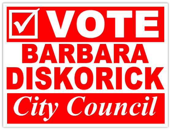 Vote For City Council Campaign Sign Template