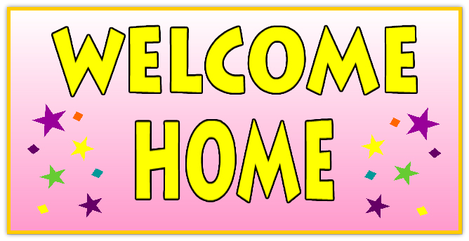 welcome home banner 110 welcome home banner templates design templates real cheap signs. Black Bedroom Furniture Sets. Home Design Ideas