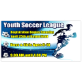 Youth Soccer Banner 101