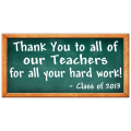 Thank You Teachers Banner 102