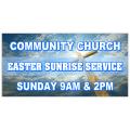 Easter Service Banner 102