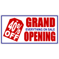 Grand Opening Banner 101