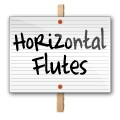 18x24 Blank White Signs with Horizontal Flutes