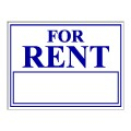 For Rent Stock Sign 18x24