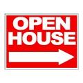 Open House Arrow Stock 18x24