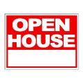 Open House Stock Sign 18x24