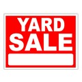 Yard Sale Stock Sign 18x24