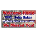 Welcome Home Banner Templates