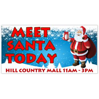 Meet+Santa+Holiday+Banner