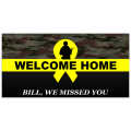 WELCOME HOME BANNER 105