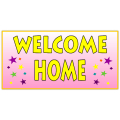 WELCOME HOME BANNER 110