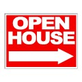 Open House Arrow Stock 18x24